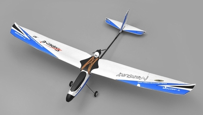 Tech One Hobby Mercury Trainer 4channel Almost Ready to Fly (Blue) RC Remote Control Radio