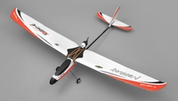 Tech One Hobby Mercury Trainer 4-Channel RC Airplane Kit with Motor (Red) RC Remote Control Radio