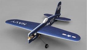 Tech One Hobby RC Plane F4U Aerobatic 3D Warbird 4 Channel Almost Ready to Fly RC Remote Control Radio