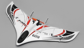 Tech One RC 3 Channel Neptune RC Plane Almost Ready to Fly 588mm Wingspan (Black) RC Remote Control Radio