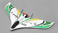 Tech One RC 3 Channel Neptune RC Plane Almost Ready to Fly 588mm Wingspan (Green) RC Remote Control Radio