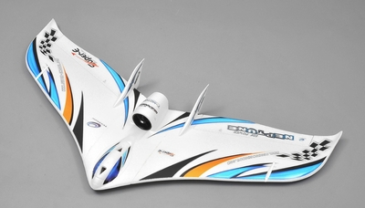 Tech One RC 3 Channel Neptune EDF RC Plane KIT Version w/Motor (Blue) RC Remote Control Radio