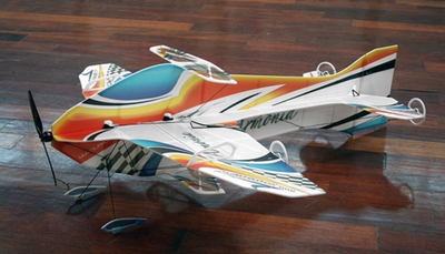 Tech One RC 4 Channel Armonia Indoor Aerobatic Freestyle Depron RC Plane Almost Ready to Fly 900mm Wingspan RC Remote Control Radio