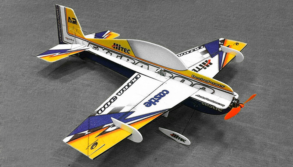 Tech One RC 4 Channel Extra 300 Indoor Aerobatic 3D EPP ...