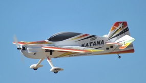 Tech One RC 4 Channel Katana EPO Aerobatic RC Plane Kit w/Motor (Red) RC Remote Control Radio