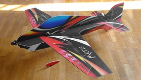 Tech One RC 4 Channel Metis Indoor Aerobatic Freestyle Depron Plane Almost Ready to Fly 900mm Wingspan RC Remote Control Radio
