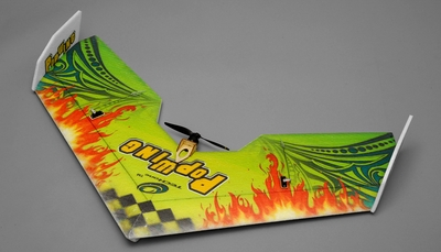 Tech One RC 4 Channel Pop Wing  EPP ARF Version  Plane kit + T2208 motor + ESC + servo + propeller RC Remote Control Radio