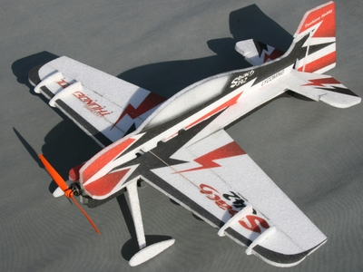 Tech One RC 4 Channel Sbach342 Indoor Aerobatic 3D EPP Almost Ready to Fly Plane RC Remote Control Radio