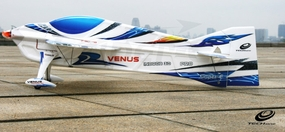 Tech One RC 4 Channel Venus EPO ARF Version Plane kit +AT2206 V2 motor + T10A ESC + DT55 servo + propeller (Blue) RC Remote Control Radio