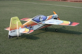 Tech One RC 4 Channel Yak54 1100mm EPP ARF Version Plane kit + AS2216 Motor + ESC + 11g servo + propeller RC Remote Control Radio