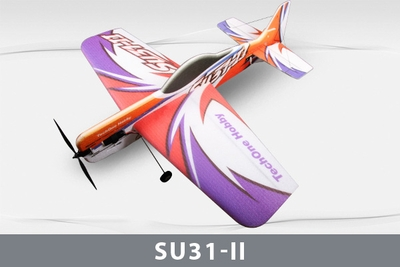 Tech One SU31 II 1000mm Wingspan RC Plane 4 Channel EPP KIT RC Remote Control Radio