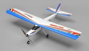TechOne Saturn 4 Channel RC EPO Airplane Kit (Blue) RC Remote Control Radio 1230mm wingspan