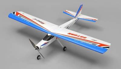 TechOne Saturn 4 Channel RC EPO RC Airplane Kit w/ Motor (Blue) RC Remote Control Radio