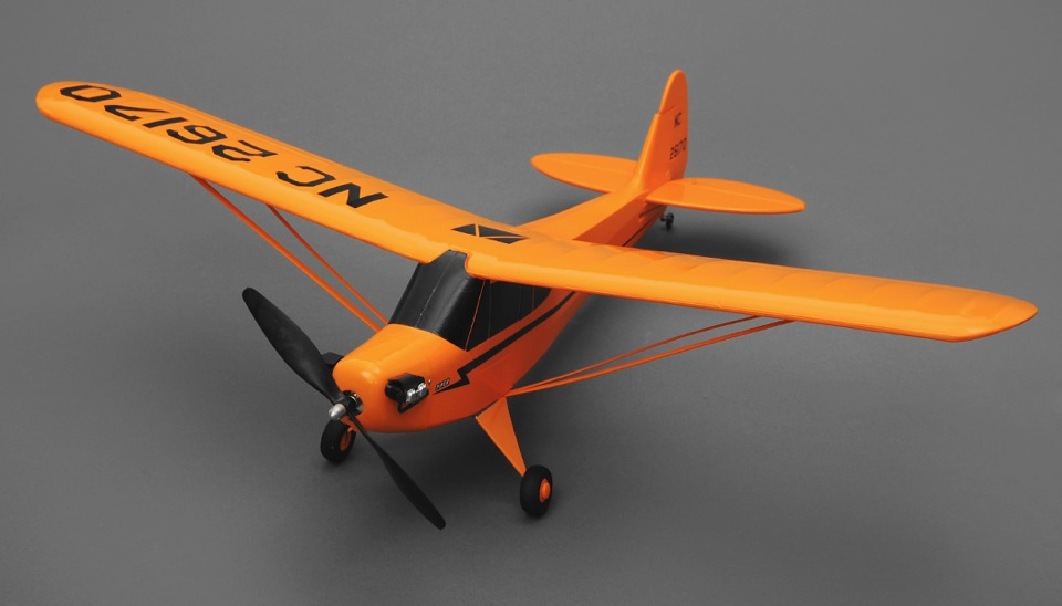 Tex RC J3 Cub 3 Channel Airplane Ready to Fly 2 4ghz