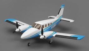 Tex RC  PA34 Civilian Aircraft 4 Channel Ready to Fly 2.4ghz Wingspan 900mm RC Remote Control Radio
