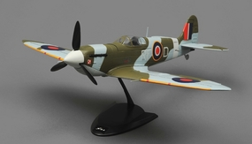 Tex RC  Spitfire Mini Warbird 4 Channel Almost Ready to Fly  Wingspan 650mm RC Remote Control Radio