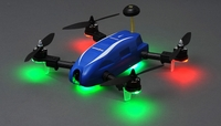 Top RC Hobby Racer Kingdowin KDW280 FPV Racing Drone Quad RTF Ready to Fly (Blue)