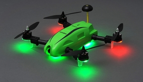 Top RC Hobby Racer Kingdowin KDW280 FPV Racing Drone Quad RTF Ready to Fly (Green)