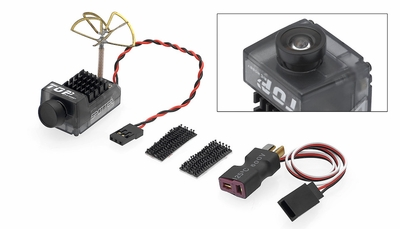 TOP RC Hobby Spotter V2 Micro 2 in 1 FPV Camera and Video Transmitter with OSD