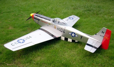 "U.S. P-51D Mustang 60~90 - 55.7"" Nitro Gas ARF RC Radio Remote Controlled Plaen w/ Retract!!! 20A02_P51D"