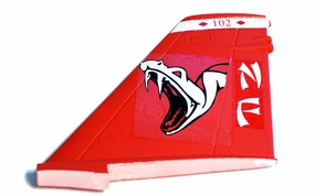 V Tail Left Parts-ExceedF18_06A05-08-Vtail-L-RedViper