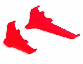 Vertical & horizontal tail blade set(red) EK1-0442R