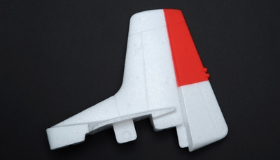 Vertical stabilizer 60P-T28-03-Red