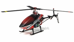 Walkera HM 4F200 Helicopter 2.4Ghz ARF w/ Tri-Blade Flybarless Rotor Head/ Auto Stabilizing Gyro RX Ready Almost Ready to Fly