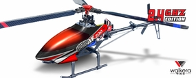 Walkera HM 4F200 Helicopter 2.4Ghz RTF Ready to Fly w/ Tri-Blade Flybarless Rotor Head/ Auto Stabilizing Gyro/Brushless/ ESC/Lipo