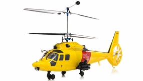 Walkera Lama 400 Metal 2.4GHz 4CH US CNC RC Electric Helicopter RTF (Yellow)