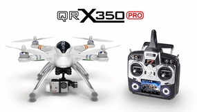 Walkera QR X350 Pro Quadcopter FPV Version RC Remote Control Radio