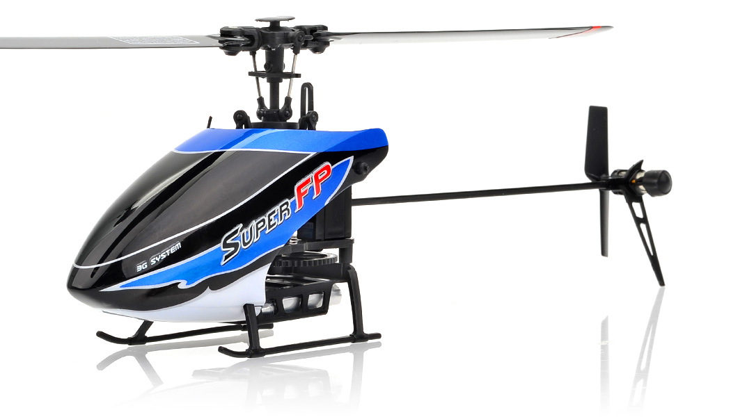 Walkera Super Fp 4 Channel Rc Helicopter Rtf 2 4ghz Rc
