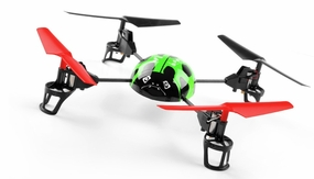 WL Toys  RC Beetle V929 Quadcopter 4 Channel 2.4Ghz (Green) RC Remote Control Radio