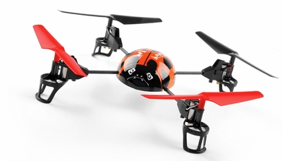 WL Toys RC Beetle V929 Quadcopter 4 Channel 2.4Ghz (Orange) RC Remote Control Radio