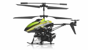 WL Toys V757 Bubble Master Co-Axial 3.5 Channel RC Helicopter (Green) RC Remote Control Radio