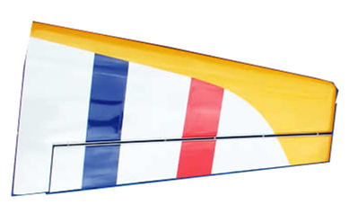 Yak 50CC Left Wing Part-90A183R_54-50CC-Red-left-wing
