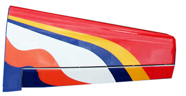 Yak 50CC Right Wing Part-90A183R_Yak54-50CC-Red-right-wing