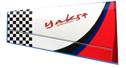 Yak 50cc White Left Wing Part-90A183W_Gas_GiantYak54-50CC-White-lelf-wing