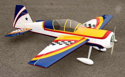 """Yak 52 3D 50 - 56"""" Nitro Gas Radio Remote Controlled Aircraft Almost-Ready-to-Fly ARF"""