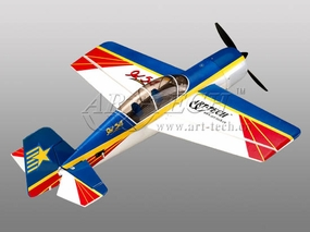 Yak 54 4-Channel RTF Professional R/C Airplane w/ Brushless Motor+ESC+LiPo Setup Ready to Fly 6901A_Artech-Yak54-4CH-RTF