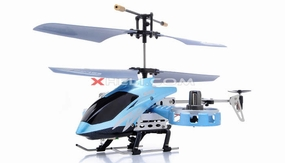Zhengrun 4 Channel Co-axial RC Helicopter RTF w/ Built in Gyro (Blue) RC Remote Control Radio
