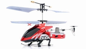 Zhengrun 4 Channel Co-axial Remote Control Helicopter RTF w/ Built in Gyro (Red) RC Remote Control Radio