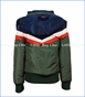 4 Funky Flavours, Abacab Hooded Jacket in Green