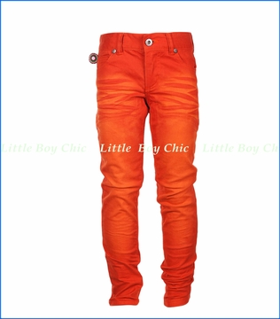 4 Funky Flavours, Dance Apocalyptic Twill Pants in Orange