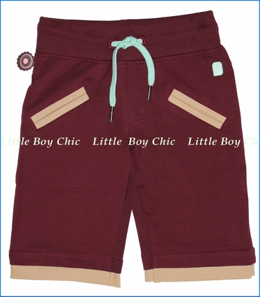 4 Funky Flavours, Edibles Knit Shorts in Wine