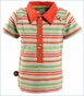 4 Funky Flavours, Further Away Stripe Polo (c)