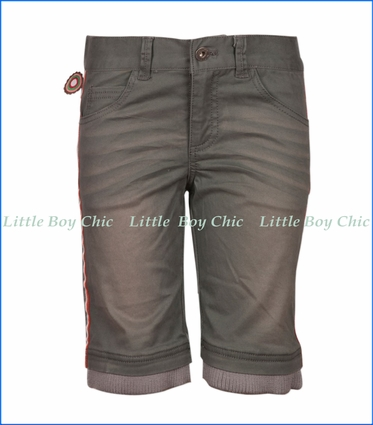 4 Funky Flavours, Low Twill Shorts in Grey