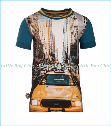 4 Funky Flavours, Mr. Cab Driver T-Shirt in Green