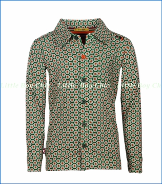 4 Funky Flavours, Simply Irresistible Buttoned Shirt in Green