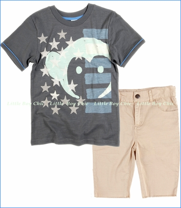 Appaman, American Monkey Tee with Punk Shorts